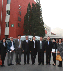 北京市卫生局及香港同行来访